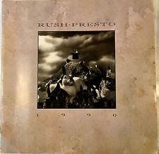 VINTAGE ORIGINAL RUSH PRESTO 1990 CONCERT PROGRAM TOUR BOOK