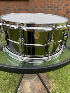 ludwig black beauty snare drum 14x6.5