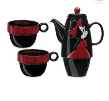 DISNEY STORE MINNIE MOUSE TEA SET FOR TWO Signature Limited Edition of 1000 D23