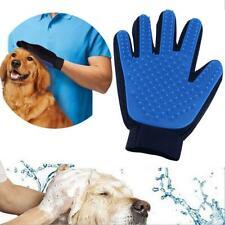 2-Pack TrueTouch Style Deshedding Brush Glove Pet Dog Cat Massage Hair Removal