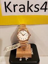 Fossil BQ3374 Women's Adalyn Three-Hand Rose Gold-Tone Stainless Steel Watch
