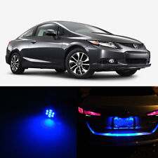 Blue LED License Plate Lights For Honda CIVIC SI 1998-2015 2010 2011 2012 2013