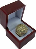 2019 Toronto Raptors LOWRY NBA Finals 18k GP Brass Championship Ring & Wood Box