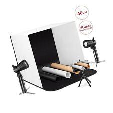 "ESDDI Photo Light Box Photography 16""x16""/40x40cm Portable Table Top Lighting..."