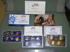 2007 US MINT 'S'  Proof Set with Statehood Quarters & Presidential $1 - 14 coins