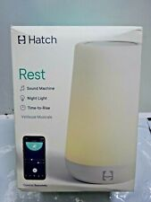 Hatch Rest Sound Machine Night Light And Time-to-Rise