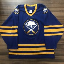 CCM Buffalo Sabres 1987 NHL Hockey Jersey Vintage Royal Blue Away Medium M