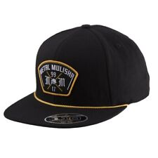 Metal Mulisha Men's Commando Adjustable Snapback Hat Black Headwear Baseball Cap