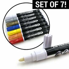 Set of 7 Tire Ink Permanent Marker For Tire Lettering Paint Pen USA Seller SUV