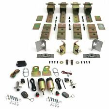 Universal 2 Door Suicide Hidden Hinges Kit with 80 lbs Shaved Door Remote Kit