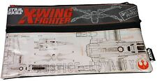 "Star Wars The Force Awakens "" X-Wing Fighter Schematics "" Utility Trousse Neuf"