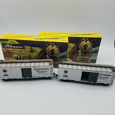 Athearn HO Scale 40' Southern Pacific Overnights Boxcar With Box Lot Of 2 VTG