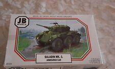"""ancienne maquette """" CHAR SALANDIN MK.2 armoured..  """" ; jamais monté JB models"""