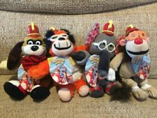 """Banana Splits Rare Set Of 4 Small 7-8"""" Beanie Plush Soft Toy Brand New With Tags"""