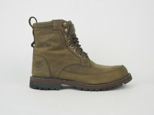 Mens Timberland Timberland Chestnut Ridge 5532A Olive Leather Ankle Boots UK 7.5