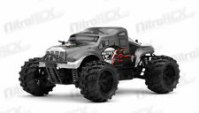 MicroX Racing 1/24 Micro RC Monster Truck Electric Ready to Run 2.4G Grey Black