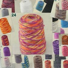 Sale 500g 1 Cone Yarn Chunky Hand Knitting Colorful Warm Soft Wool Cashmere