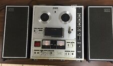 Vtg Sony TC-630 3 Head Reel to Reel Tape Recorder Tapecorder Solid State
