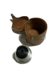 Argus Cintagon (Steinheil Munchen) 35mm f4.5 lens with leather case