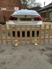 Event fencing, Grotto Fencing, Temporary Wooden Picket Fencing, Free Standing