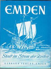 EMDEN - Stadt im Strom der Zeiten 2. Auflage 1979, Gerhard Verlag, gebraucht