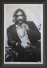 Dennis Hopper Vintage 1970 RIDER Poster on Newsprint 38x25 Free Shipping