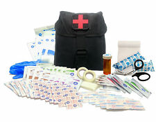New Recruit First Aid Kit - Military IFAK Army Medic - Black #FA15