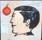 """Donald Baechler """"Onion Eater"""" Modern American Art 35mm Glass Slide"""