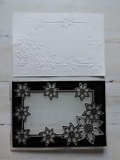 Embossing Folder -  Flower Frame