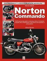 Norton Commando How To Restore manual restoration book 1968-1975