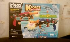 KNEX K FORCE BUILD N BLAST DOUBLE DRAW AND TARGET MAY NOT BE COMPLETE LOT PIECES