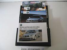 04 - 2004 BMW E46 Coupe: 325 330 Ci 325Ci 330Ci Owners Manuals Books Set # C150