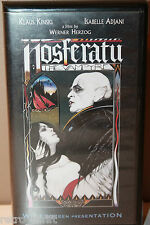 Nosferatu The Vampyre VHS Tape Klaus Kinski Isabelle Adjani Werner Herzog