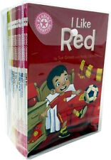 Reading Champion Beginners Collection 30 Books Collection Set I Like Red, TapTap