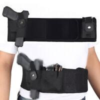 Neoprene Gun Holster Adjustable Concealed Carry Belly Band Pistol Handgun Bag
