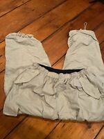 B.U.M Equipment Pants Cargo Nylon Lined Beige Hiking Outdoors Size Mens Large