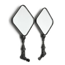 Pair Motorcycle Rear View Side Mirrors For Suzuki DR 200 250 DR350 DRZ 400