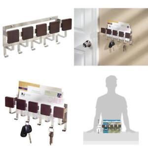 Interdesign Formbu Mail Holder And Key Rack Organizer – Wall Mounted Letter Sh