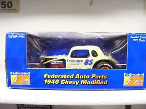 1/25 #85 FEDERATED AUTO PARTS   ERTL DIRT MODIFIED COUPE