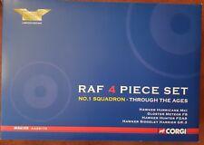 Corgi Aviation Archive RAF 4 Piece Set No1 Squadron - Through the Ages AA99170