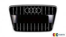 NEW GENUINE AUDI Q7 10-16 FRONT CENTER GRILL ASSEMBLY GLOSS BLACK 4L0853651G T94