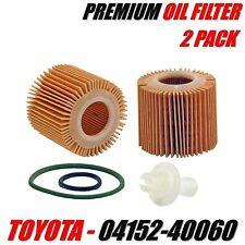 2 Pack SCION IQ Engine Oil Filter 1.3L Engine 2012-2014 OE# 04152-40060