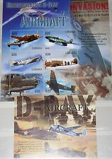 LIBERIA 2004 4896-25 Block 495-99 WWII D-Day Aircrafts Flugzeuge Airplanes MNH