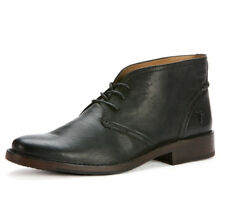Mens Frye Boots Oliver Lace Up Chukka Black 87820 BLK