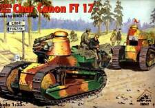 RENAULT FT-17 CANON W/BERLIET TURRET(U.S, SPANISH, FRENCH, POLISH MKGS) 1/35 RPM