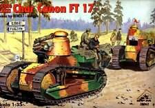 Renault FT-17 canon avec berliet tourelle (u. s, espagnol, français, polonais MKGS) 1/35 rpm