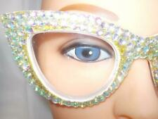 2021 READING GLASSES MAXED WITH CRYSTAL RHINESTONES  4.00 STRENGTH FREE SHIP