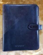 = RENAULT - CLASSEUR ADEX avec index Téléphone - 2001 - Simili noir de qualité