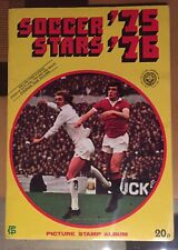 FKS Soccer Stars 1975 1976 Complete VGC 75 76 + Original Order Form