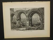 Picturesque Europe Great Britain  Chapter House Wenlock Abbey  i1#66